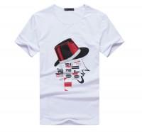 时尚贵族风短袖T恤[3色]